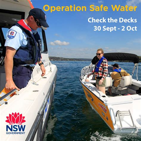 boating safety officer nsw nsw maritime boating safety officers will be out in