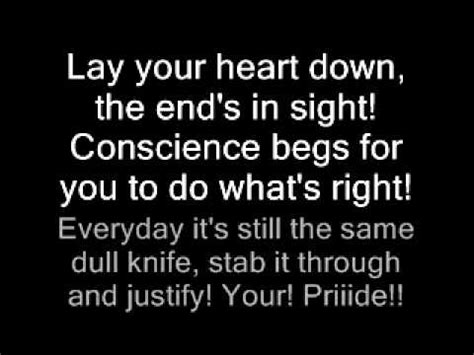 fjord lay down your veil lyrics black veil brides knives and pens lyrics youtube