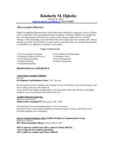 Wellness Coach Sle Resume by Health Coach Resume Gallery