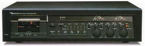 nakamichi 582 cassette deck nakamichi 582