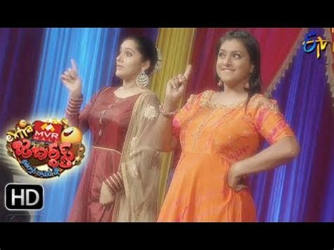 extra jabardasth | intro | 20th october 2017 | etv telugu