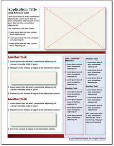 Reference Guide Template Word by Doc 668864 Reference Guide Template Word