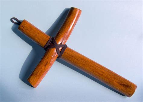 Handmade Cross - olive wood handmade christian cross monk cross