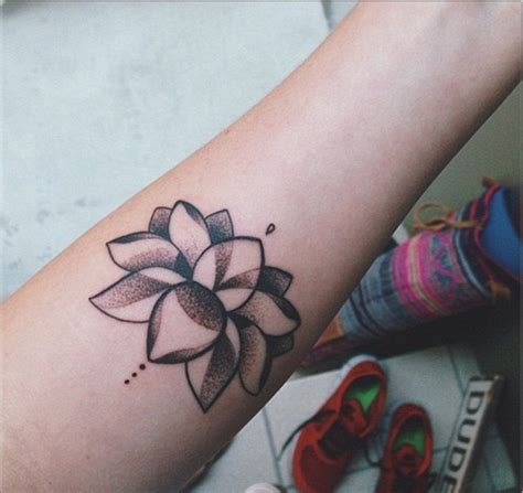 Lotus Leaf Tattoo Meaning | 30 awesome lotus flower tattoo design