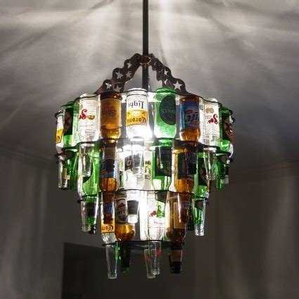 how to make a bottle chandelier how to make 10 chandeliers created out of