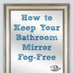 how to keep bathroom mirrors fog free beautiful bathrooms on pinterest 76 pins