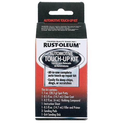 home depot car touch up paint rust oleum automotive touch up kit 6 pack sc1000 the