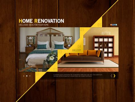 home renovation gallery template best website