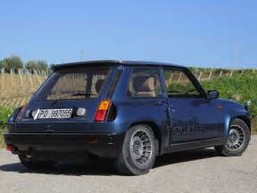 Tamed a renault 5 turbo ii a smiling mid engined box of french