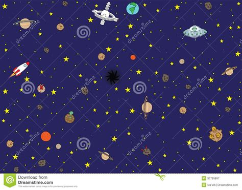 space pattern background free space wallpaper stock vector illustration of station