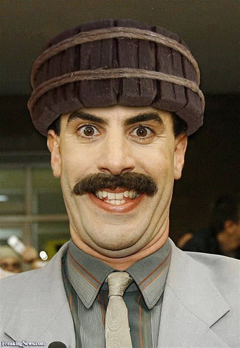 Borat A by Borat In A Wooden Hat Pictures