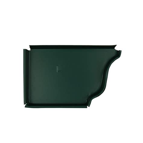 amerimax home products 5 in grecian green aluminum left