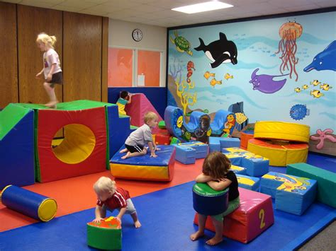 nursery playroom layout daycare preschoolers active 2 3 of the time