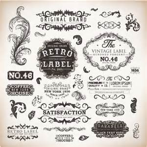 adobe illustrator label template vintage labels and borders vector free vector in adobe