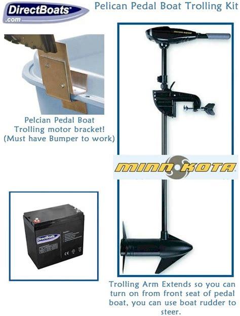 pedal boat trolling motor pelican pedal boat trolling motor kit