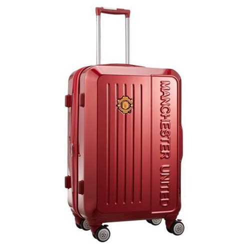 united carry on details about manchester united carry on luggage travel