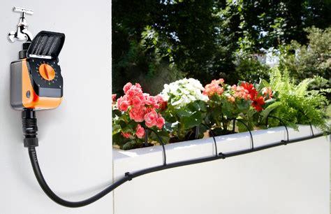 irrigazione terrazzo annaffiamento irrigazione automatica giardini piante balcone