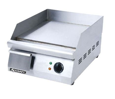 adcraft electric countertop snack griddle 16 quot wide