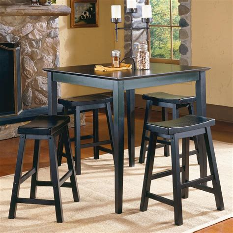 shadow ii counter height table value city furniture homelegance 5302 5pc counter height dinette set value