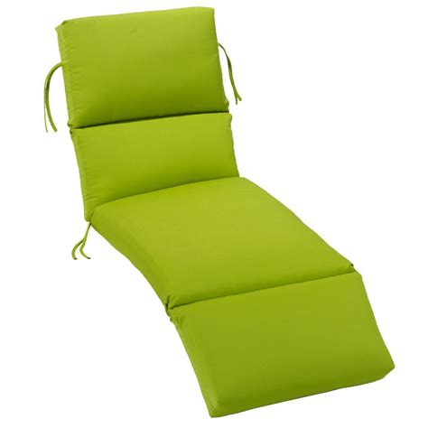 Sunbrella Chaise Lounge Cushions Home Decorators Collection Sunbrella Macaw Outdoor Chaise Lounge Cushion 1573610650 The Home Depot