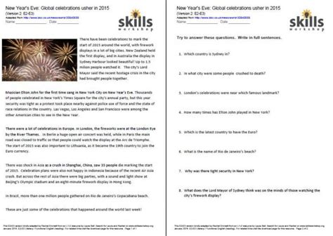 reading comprehension tests year 7 online literacy resources skills workshop