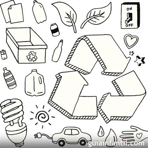 dibujos de reciclaje para colorear az dibujos para colorear dibujos infantiles sobre el reciclaje imagui