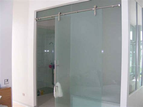 Sliding Frameless Glass Shower Doors Frameless Sliding Glass Shower Doors Home Depot Door Stair Design