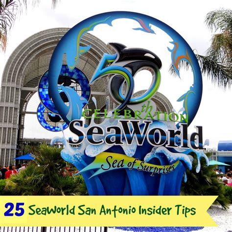 World 25 Tx by 25 Seaworld San Antonio Insider Tips Snippets