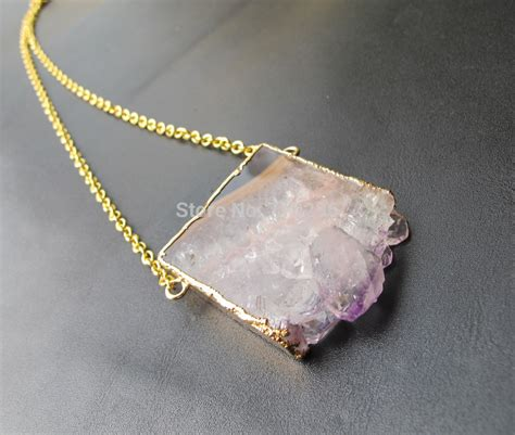 stones and for jewelry aliexpress buy new arrived amethyst druzy