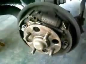 1 of 2 honda drum brake shoe service