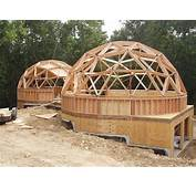 Wood Frame Dome With Hub Connectors