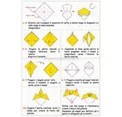Un Pulcino Origami Per La Vostra Pasqua In Modo Facile E