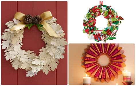 Amp design holiday paper crafts wreaths from simple to complex