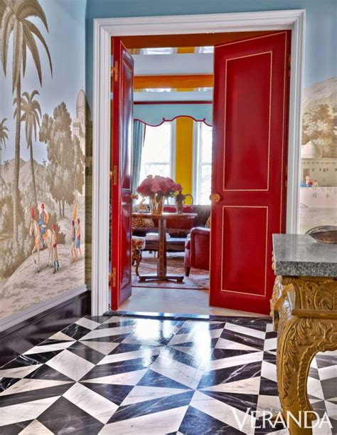 Redd Flooring by House Tour Bold Color And Daring Patterns Mix Masterfully
