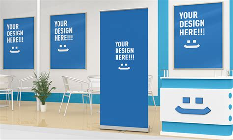 exhibition stand design mockup free download exhibition stand design mockup on behance