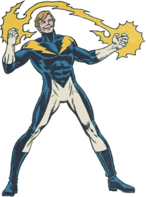 Lightning Boy Garth Ranzz Lightning Boy Lightning Lad Dc Comics Lsh