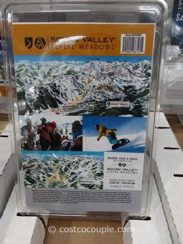 Spa Gift Cards Costco - squaw valley alpine meadows gift card package