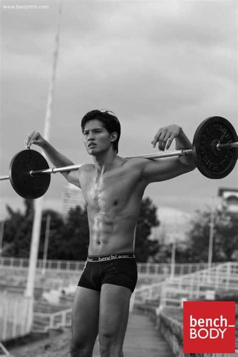 bench body male models borgy manotoc is back as bench body model mykiru isyusero