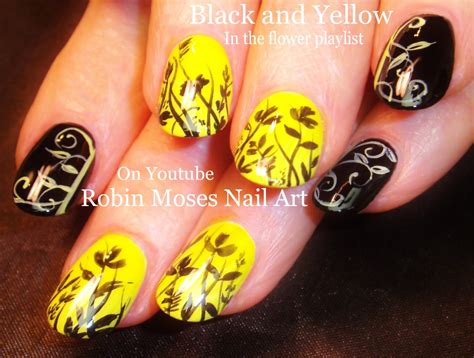 nail art zipper tutorial diy flower and filigree nail art design tutorial youtube