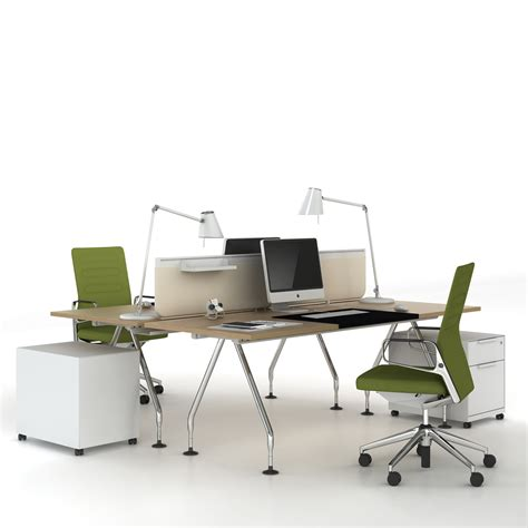 Vitra Ad Hoc Office Bench Desk Ad Hoc Office Desks Vitra Office Desk