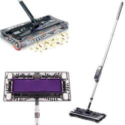 swivel sweeper rechargeable cordless lightweight battery