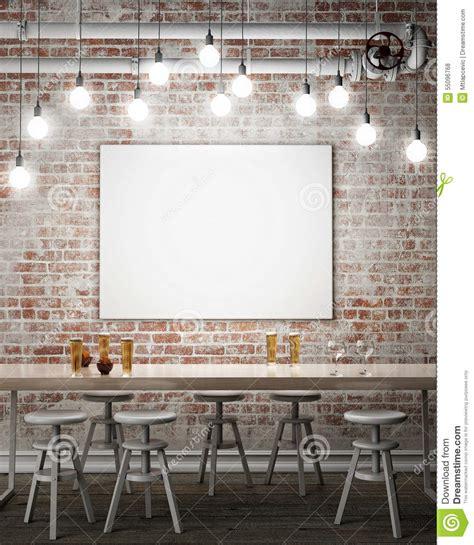 Art Studio Floor Plans Mock Up Poster Frame Stock Illustration Image Of Fashion