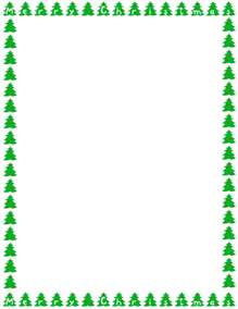 christmas tree border clipart 2 home design plan