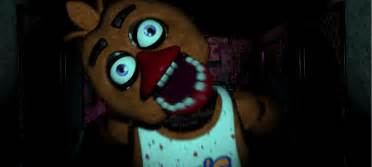 Jumpscares gif fredbear chica jumpscare by