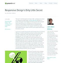 responsive design font units responsive web design pearltrees