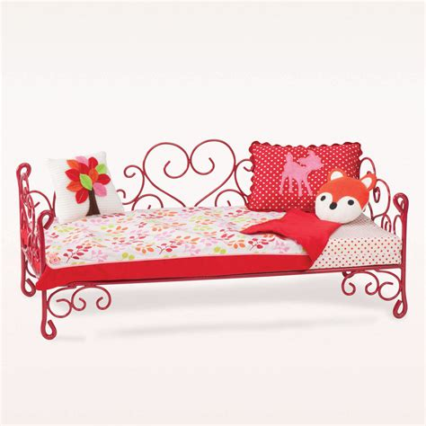 our generation doll bed our generation scrollwork bed accessory og scrollwork