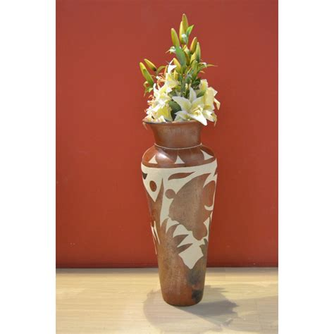 vaso etnico vaso etnico terracotta