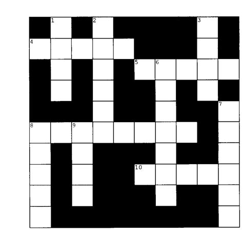 printable art crossword puzzles crossword clipart clipground
