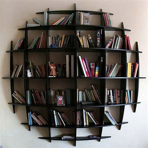 excellent exles of a wall mounted bookshelves