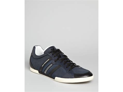 y3 sneakers mens y 3 sala sneakers in black for navy black chalk lyst